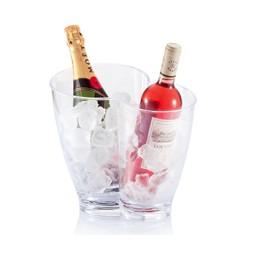 Koeler Transparant Duo + Gratis fles Prosecco