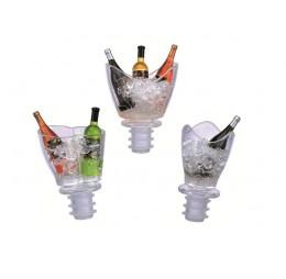 1 Flesstopper Mini Champagnekoeler