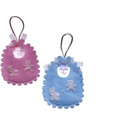 Tasje in babyslabbetje Blauw