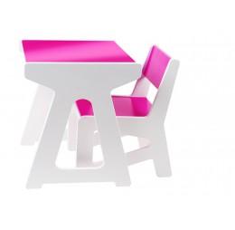 J.i.P. Mini Tafel + Stoel Set Roze