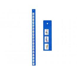 Groei Meter met Pasfoto J.i.P.
