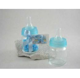 Bedankje Baby Flesje Blauw