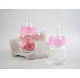Bedankje Baby Flesje Roze