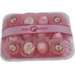 Bedankje Baby Zoetigheid Roze