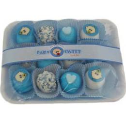 Bedankje Baby Zoetigheid blauw