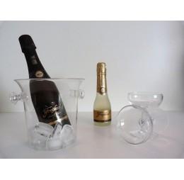 Champagnepakket met Cava en Glazen