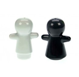 Zout en Peper Set - Boy & Girl - Zwart/Wit