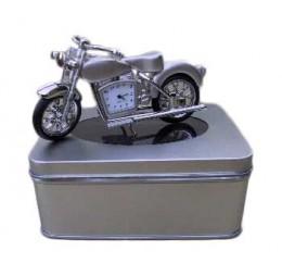 Klok Motor Zilver