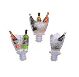3 Flesstoppers Mini Champagnekoeler