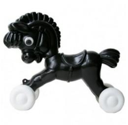 Trekpaard Zorro Zwart