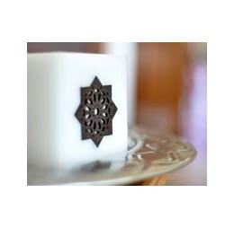 Witte Marokkaanse Kaars voor Theelicht