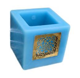 Blauw Marokkaanse Kaars voor Theelicht
