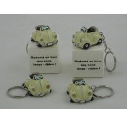 Bedankjes Sleutelhanger Auto Mini