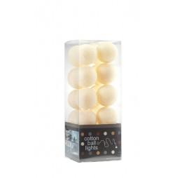 Cotton Balls Lichtslinger Beige room ivoor