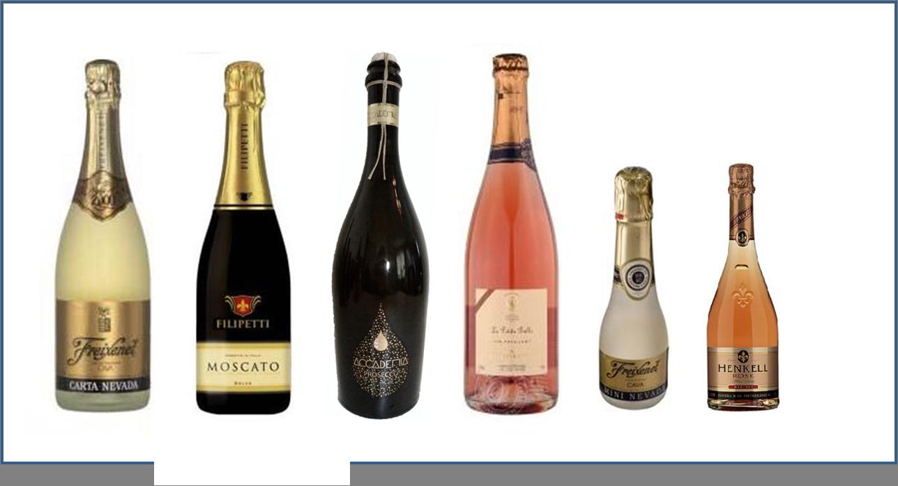 champagne en wijn trouwen