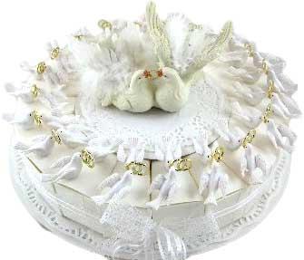 bedankje taart huwelijk