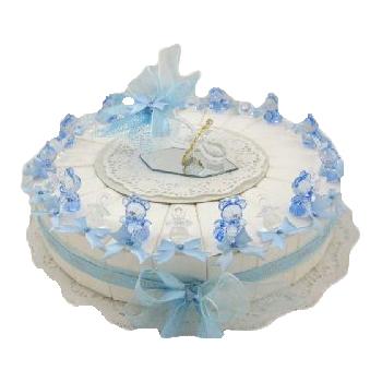 bedankjes taart kristal speen beer