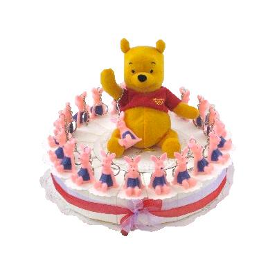 bedank taart Winnie de poo